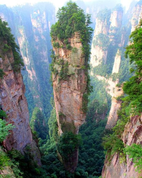 Montañas Tianzi, China